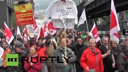 Германия: Хиляди се събират срещу капитализма в Хамбург