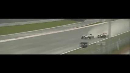Formula1 2010 Korean Grand Prix Highlights