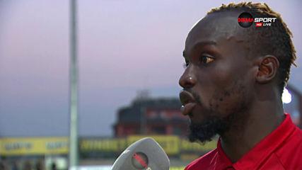 Соу: Дано вкарам повече от миналия сезон, не коментирам Бодуров