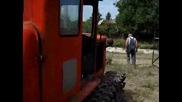 Rabota s 50g. Retro Traktor Dt54 - Palene - Potegliane