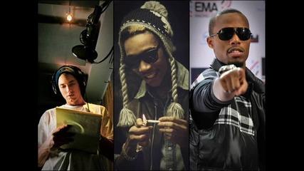 Превод! • Eminem ft. Wiz Khalifa, B o B - My Victory • [ Високо Качество ]