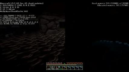 [minecraft] Как да откриете редстоун (bg audio)