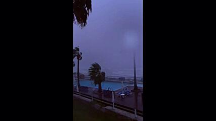 Greece: Cyclone batters island of Zakynthos
