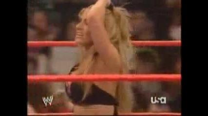Wwe - Trish Stratus - Последния Й Мач В Raw