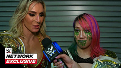 Asuka & Charlotte Flair all smiles after blue brand win: WWE Network Exclusive, Jan. 22, 2021