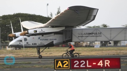 NONSTOP RECORD SET BY SOLAR-POWERED PLANE