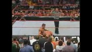 Triple H vs Randy Orton Unforgiven 2004 с превод 2 част