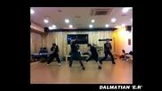 [бг превод] Dalmatian- E. R Dance Practice