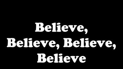 Много смислена :) Justin Bieber - Believe New [lyrics]