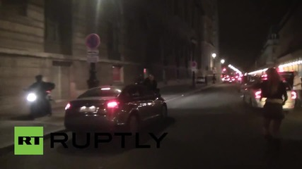 Напрежение В Париж между таксиметрови и UBER шофьори
