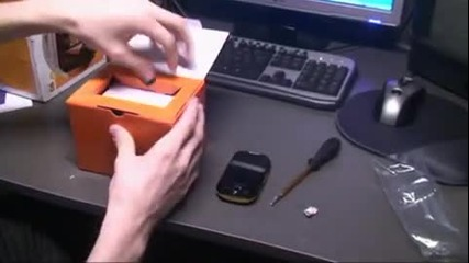 unpacking unboxing video - Samsung corby