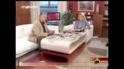 Полудял зрител в Здравей България ! - Gospodari na efira 08.07.08