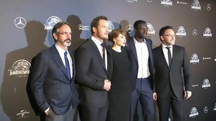 The Paris Premiere of 'Jurassic World' Highlights