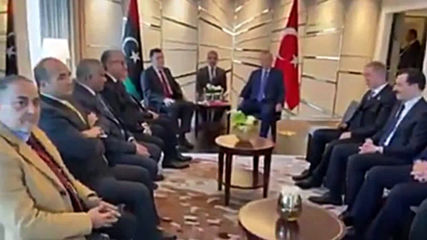 Germany: Erdogan and al-Sarraj meet ahead of Berlin Libya peace talks