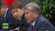 Russia: Putin and Atambayev tout Kyrgyzstan's accession to the EEU