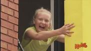 Детски игри - Човешки тетрис! скрита камера