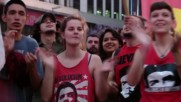 Argentina: Buenos Aires youth commemorate revolutionary leader Fidel Castro