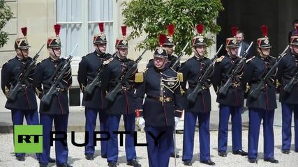France: Hollande and Yatsenyuk discuss Ukraine ceasefire violations