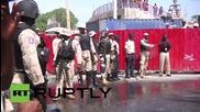 Сълзотворен газ срещу антифренски демонстранти в Хаити
