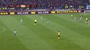 Гол на Златински в мача Лудогорец - Лацио ( изравнителен гол за 2:2 )