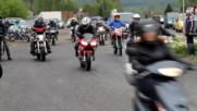 Мотоциклетно шоу на Полигона край Благоевград
