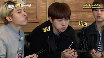 [eng-sub] 151231 Infinite Showtime - Episode 4