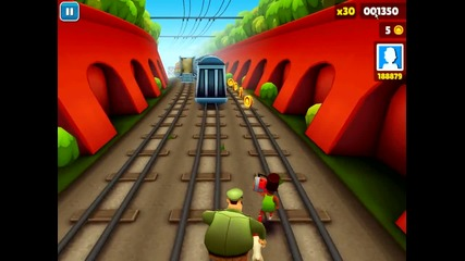 Subway Surfers - My Gameplay 1