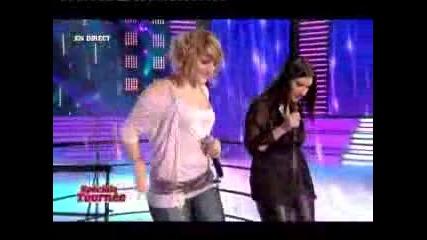 Laura Pausini & Alexia @ Star Academy 7