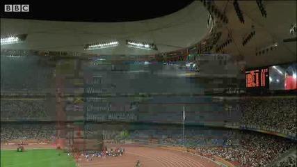 Юсейн Болт мачка и в спринта на 200 м. - Олимпийски игри Пекин 2008