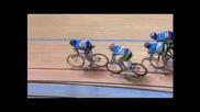 Падащи колоездачи(много смях)