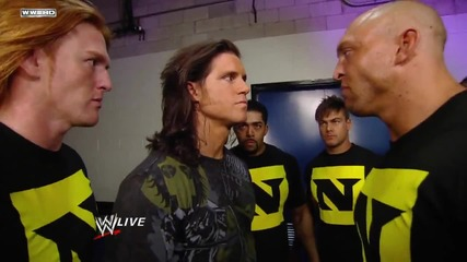 Nexus Attacks Raw Superstars