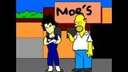 Homer vs Vegeta