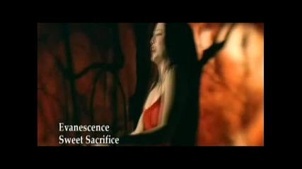 Превод* Evanescence - Sweet Sacrifice (dvd Rip)(high Quality)