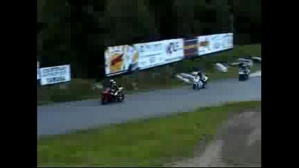 Падане с Yamaha r6