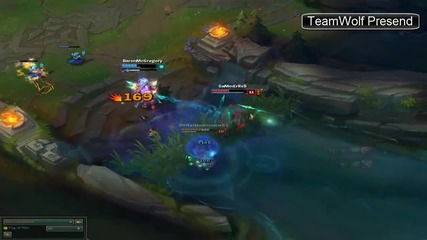 League of Legends - Penta kill by me #1 New