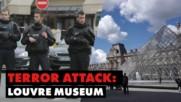 Атаката с мачете срещу войник в Париж, предизвика престрелка