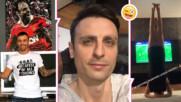 Димитър Бербатов изуми със снимка, на която показва как точно гледа Шампионска лига