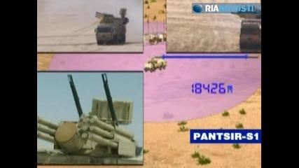 Pantsir противовъздушни оръжия