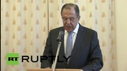 Russia: FM Lavrov praises Russian Orthodox Church's response to Ukraine conflict