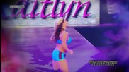 "2014: Kaitlyn Custom Entrance Video Titantron - "" Higher "" by Nicole Tranquillo [][]"