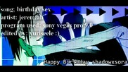 [hq+bg subs] Yaoi! Birthday Sex !shizaya! [durarara]