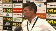 Балъков: Имахме шансове в края, Лудогорец е класа над българското първенство