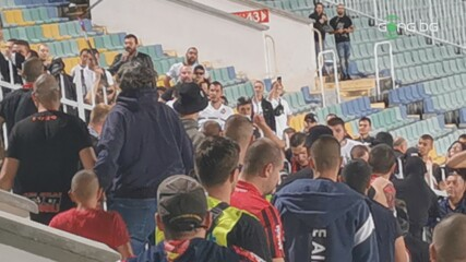 Сериозно напрежение между феновете на Локо Сф и Славия