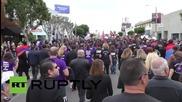 """Лос Анджелис почита жертвите на арменския геноцид с """"Марш на справедливостта"""""""