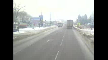 Mercedes Actros 4141 Студена - София