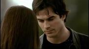 Damon & Elena ~~ What Hurts The Most (bg prevod)