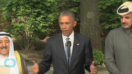 Obama Says U.S. Military to Work With Gulf Arabs to Meet Conventional Threats