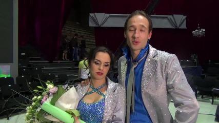 Dancing Stars - Дарин и Ани с последни думи към зрителите (04.06.2014)