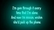 Nelly - Just A Dream Lyrics On Screen Hd