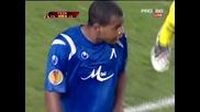 Виляреал 1 : 0 Левски - Отменен гол на Жоазиньо